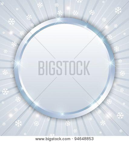 Christmas Winter Plaque