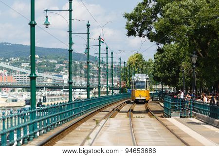 Tramway In Budapest