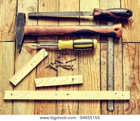 Renovation tools.