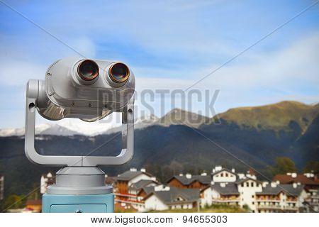 Binoculars With A Wonderful View