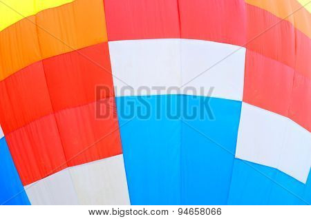 Abstract Hot Air Balloon
