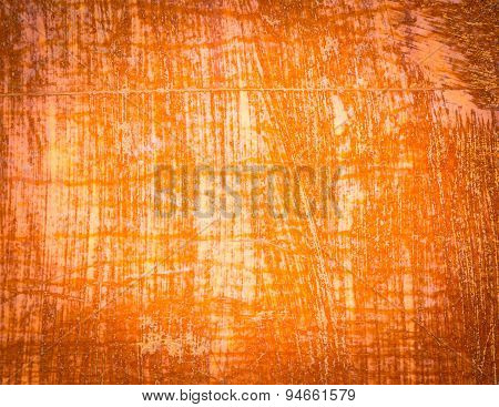 Close Up O Rusty Metal Background