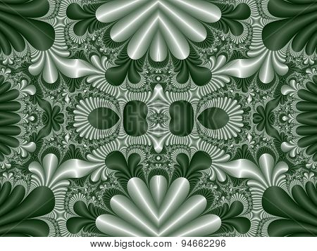 Fabulous Symmetrical Pattern For Background. Collection - Magical Satin.