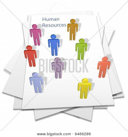 Human Resources People Business Letter Page