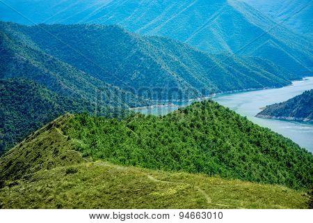 Kozjak lake in Macedonia