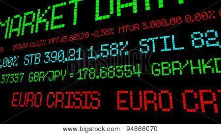 Euro Crisis Ticker