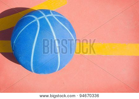 basketball in the street