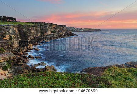 North Coogee Headland At Sunrise