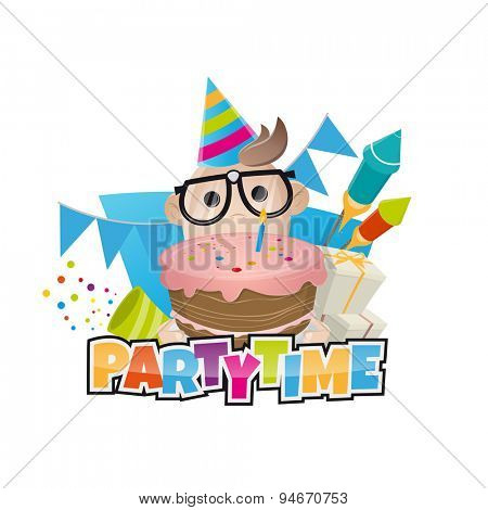 funny birthday party man
