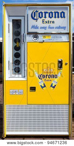 Corona Extra Beer Vending Machine