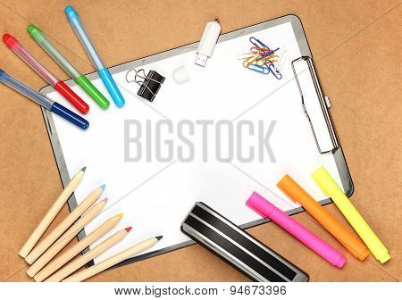 Child Picture And Stationery