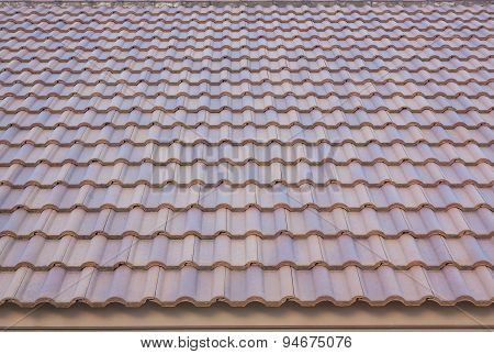 Roof Tile Texture Background.