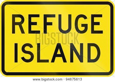 Refuge Island In Australia