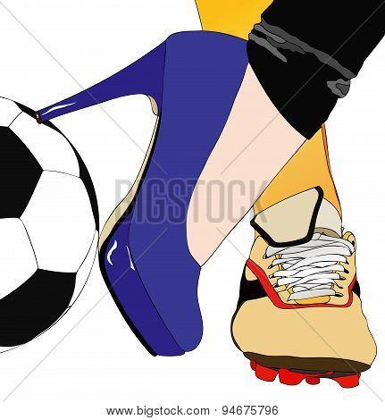 Between Football And Fashion