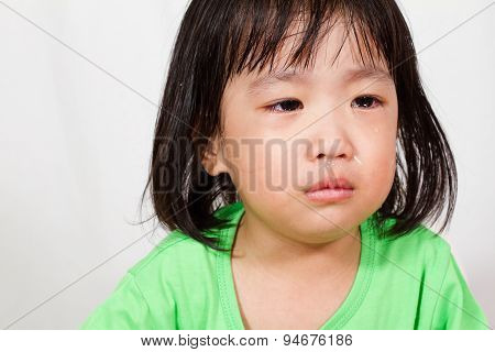 Little Asain Chinese Crying