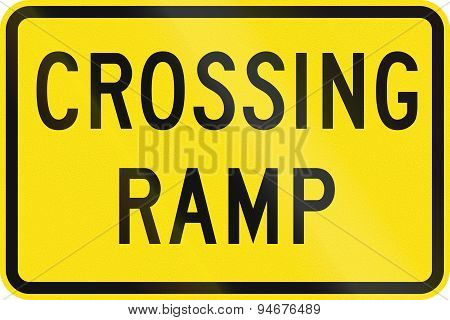 Crossing Ramp In Australia