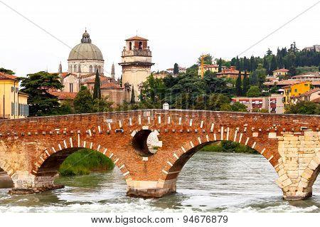 Verona. Bridge St. Peter.