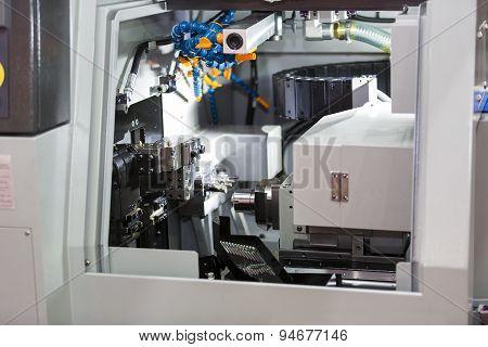 Turning Automotive Part By Lathe machine