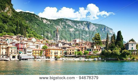 Varenna village, Como lake