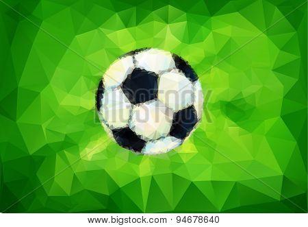 Football vector image.