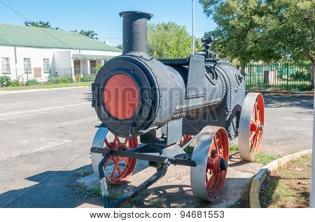 Historical Old Steam Boiler