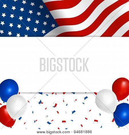 american festival background