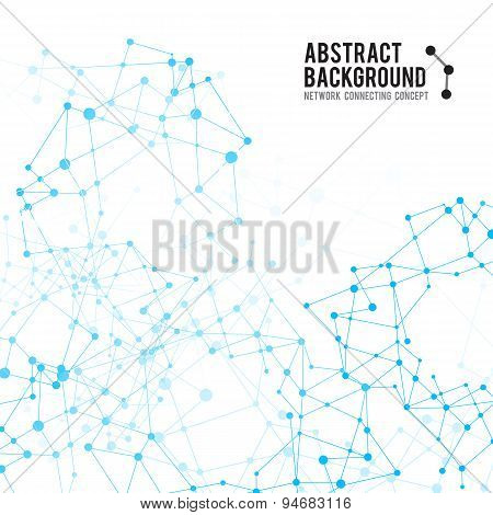 Abstract Background Network Connect Concept - Vector Illustration 004