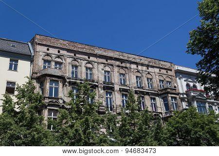 residential building facade - real estate