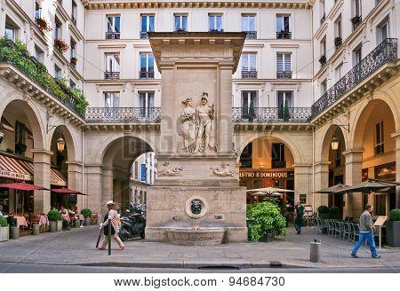 The Fountain Of Mars (la Fontaine De Mars)