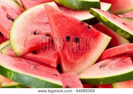 Slises Of Watermelon.