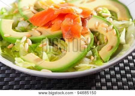 Salmon Salad With Avocado