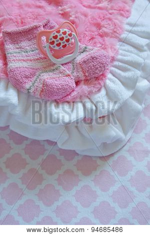 Layette for newborn baby girl