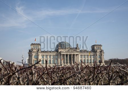 Reichstag, berlin, germany - german parliament building