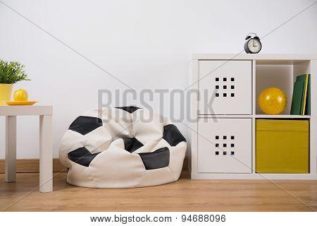 Armchair Bag In Bedroom