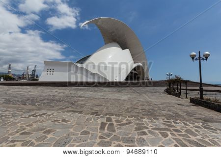Auditorio de Tenerife , Concert hall - Santa Cruz