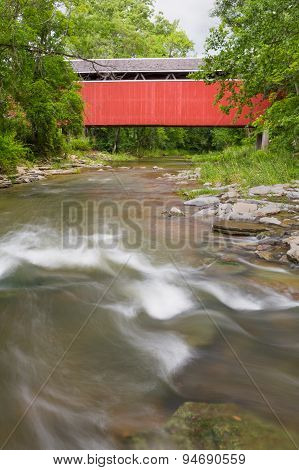 Stock-heughter Covered Bridge