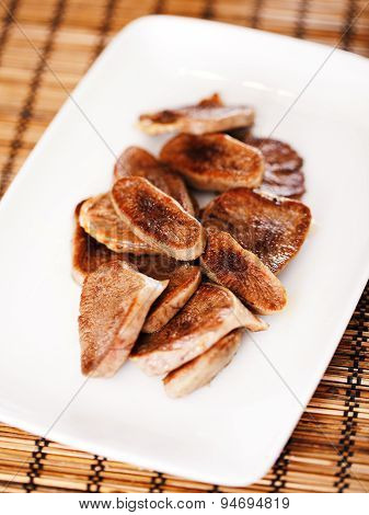 Fried Veal Tongue