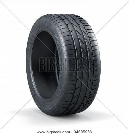 Single New Unused Car Tire