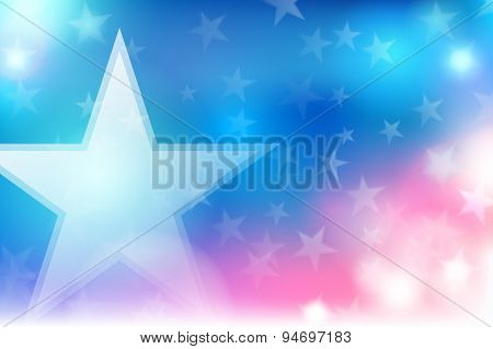Vector Abstract Independence Day Background