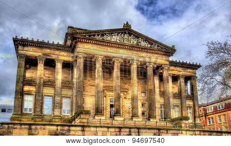 Harris Museum And Art Gallery In Preston - England