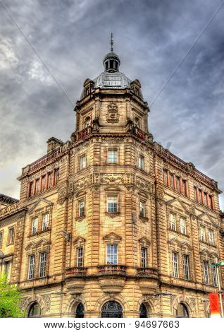 Historic Building In The Centre Of Glasgow - Scotland