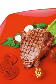 foto of red meat  - meat savory  - JPG