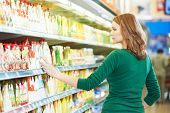 picture of supermarket  - Shopping - JPG