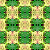 image of symmetrical  - Beautiful symmetrical pattern in stained - JPG