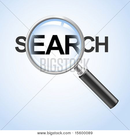 search concept ( vector illustration)