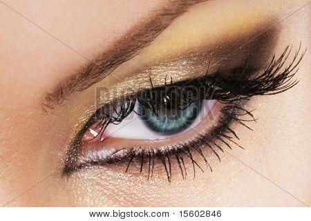 Olho de mulher