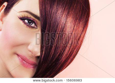Ruby hair