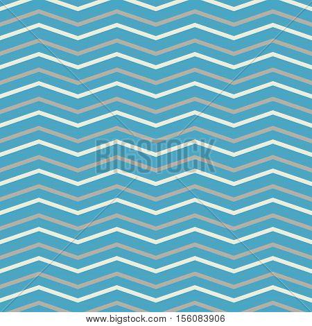 Pattern in zig zag. Classic chevron seamless pattern.