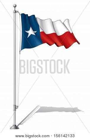 Flag Pole Texas.
