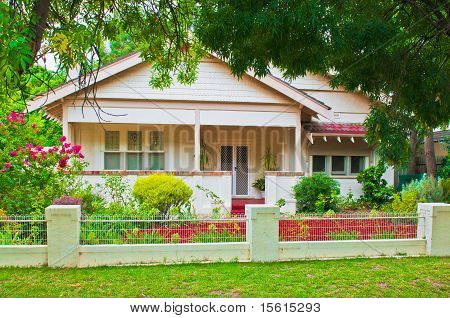 1920S Bungalow In Rural Australian Town